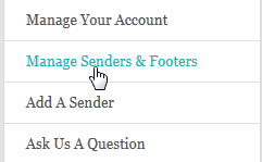 Use Manage Senders and Footers for the Best Email Campaigns
