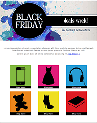 Black Friday Email Marketing Campaign Template