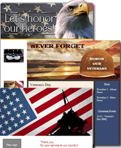 Veterans Day Email Templates