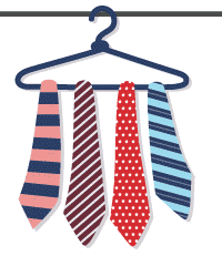 Ties for Father's Day Email Campaign