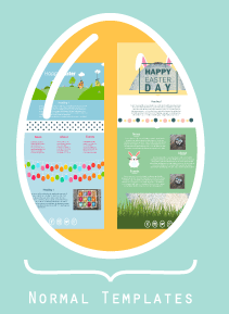 Easter Email Template Newsletters
