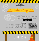 Labor Day Email Template for Construction